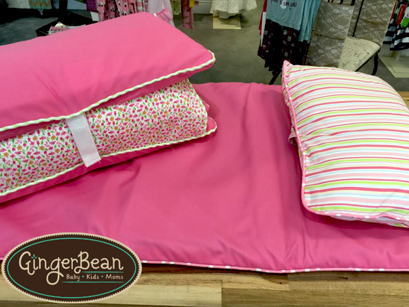 Three Marthas Pink Stripes Nap Mat.