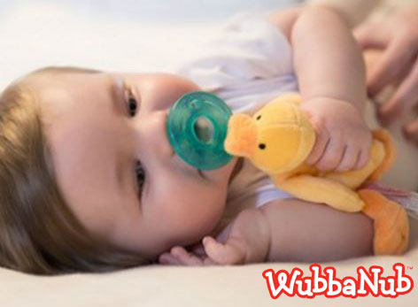 Wubbanub Yellow Duck at GingerBean
