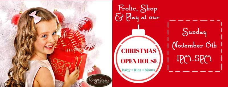 GingerBean Christmas Open House 2016