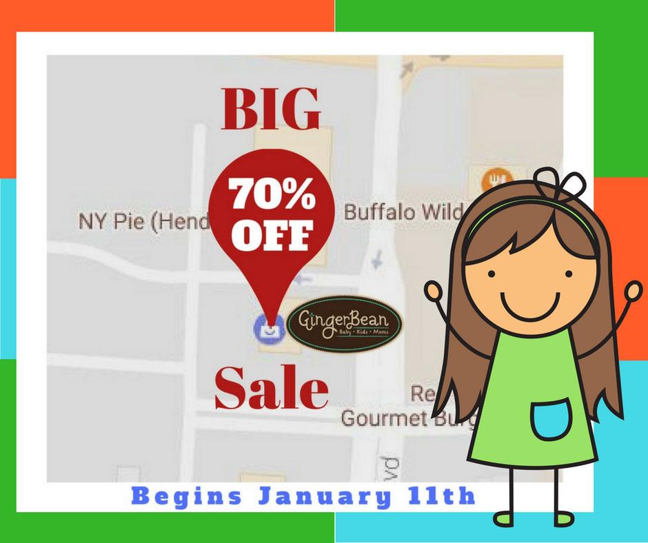 GingerBean Boutique Sale
