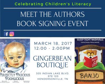 Local Authors Children's Book Signing Event
