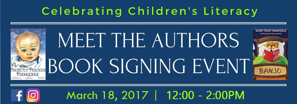Nashville Children's Authors Book Signing Event