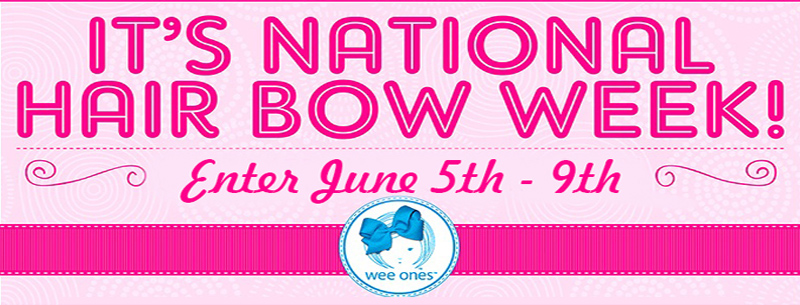 National Hair Bow Week 2017