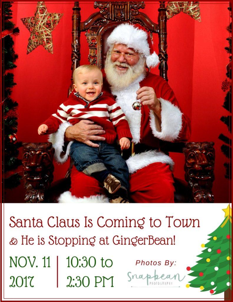 Santa Pictures at GingerBean
