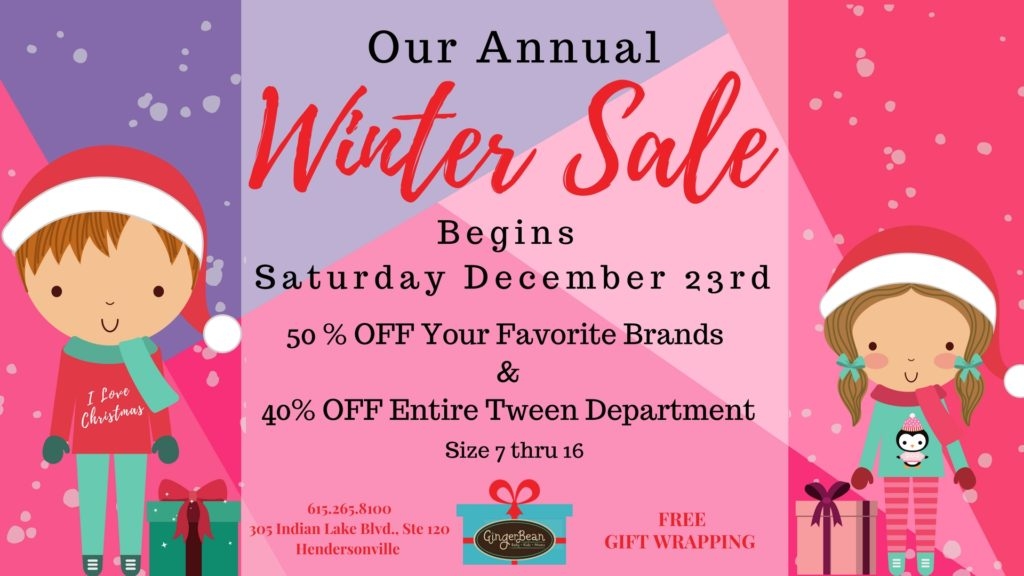 GB Winter Sale