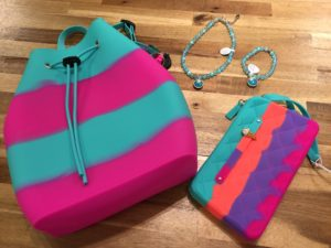 American Jewel Backpack and Wallet and Mermaid Jewelry
